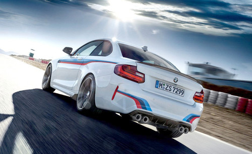 BMW M Performance Carbon Fiber Rear Diffuser for M2 Coupe