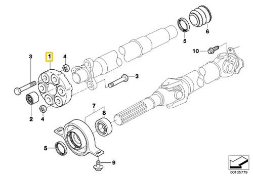Genuine BMW Emergency Brake Handle Trim E24 E28 633i 635i 533i 535i M5 +