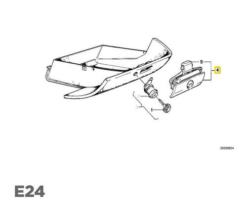 NEW GENUINE OEM BMW E21 E23 E24 Glove Box Lock Cylinder