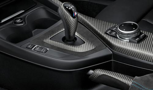 Originale BMW M Performance Astuccio Portachiavi Carbonio//Alcantara 82292355519