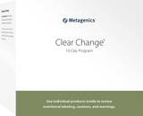 Metagenics Clear Change 10-Day UltraClear Plus -  Vanilla