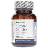 Metagenics D3 2000 Complex - 90 Tablets