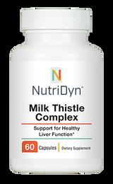 NutriDyn Milk Thistle Complex - 60 Capsules