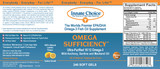 Omega Sufficiency 240 Lemon Capsules - Case of 6