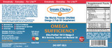 Omega Sufficiency 240 Strawberry/Lime Capsules - Case of 6