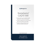 Metagenics NutraGems CoQ10 300 - 30 Chewable gels