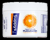 Suppys Multivitamins - Orange  - 60 Chewable Tablets
