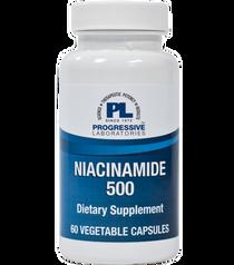 Progressive Labs Niacinamide 500 - 60 vcaps