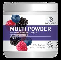 NutriDyn Dynamic Multi Powder Berry Flavor - 5.77 Oz