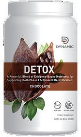 NutriDyn Dynamic Detox Powder Chocolate - 32.89 Oz
