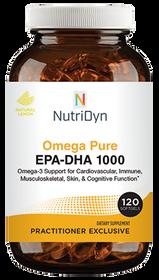 NutriDyn Omega Pure EPA-DHA 1000 - 120 Softgels