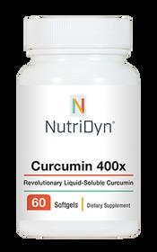 NutriDyn Curcumin 400x - 60 Softgels