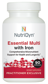 NutriDyn Essential Multi with Iron - 90 Capsules