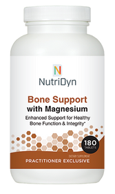 NutriDyn Bone Support with Magnesium - 180 Tablets
