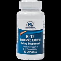Progressive Labs B-12 Intrinsic Factor - 60 Capsules