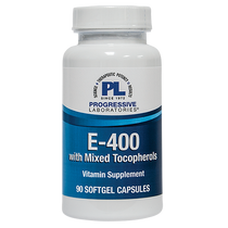 Progressive Labs E-400 with Mixed Tocopherols - 90 Softgels