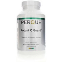 Perque Potent C Guard Buffered Ascorbate Powder 16 Oz