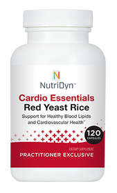 NutriDyn Cardio Essentials Red Yeast Rice - 120 capsules