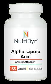 NutriDyn Alpha-Lipoic Acid - 100 Capsules