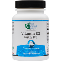 Ortho Molecular Vitamin K2 with D3 30 Capsules
