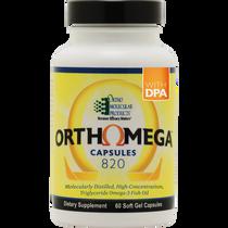 Ortho Molecular Orthomega® 820 60 capsules