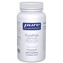 Pure Encapsulations PurePals with iron - 90 Chewables