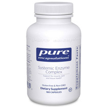 Pure Encapsulations Systemic Enzyme Complex - 180 Capsules