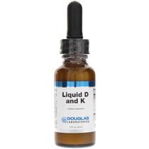 Douglas Laboratories Liquid D and K 1 Oz