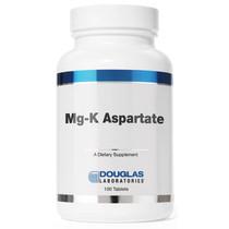 Douglas Laboratories Mg-K Aspartate 100 Tablets