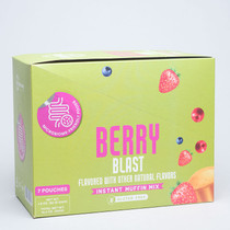 Microbiome Labs GoodBiome Foods Berry Blast - (7 pack)