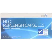 Pharmax HLC Replenish Probiotic - 14 Veg Capsules