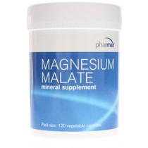 Pharmax Magnesium Malate - 120 Veg Capsules