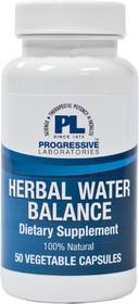 Progressive Labs Herbal Water Balance - 50 Veg Capsules