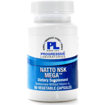 Progressive Labs Natto NSK Mega - 60 Veg Capsules
