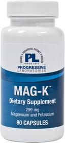 Progressive Labs Mag-K 299 Mg Magnesium & Potassium - 90 Capsules