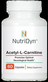 NutriDyn Acetyl-L-Carnitine - 60 capsules