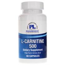 Progressive Labs L-Carnitine 500 - 60 Capsules