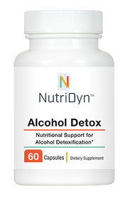 NutriDyn Alcohol Detox - 60 Capsules