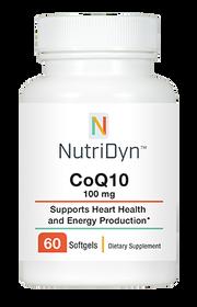 NutriDyn CoQ10 100 Mg - 60 Softgels
