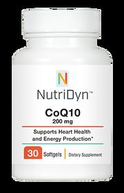 NutriDyn CoQ10 200 mg - 30 Capsules