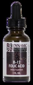 Dynamic Nutritional B-12 Folic Acid - 1 Oz
