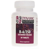 Dynamic Nutritional B-6/ 250 Mg Sustained Release - 60 Tablets