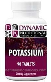 Dynamic Nutritional Potassium - 90  Tablets