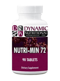 Dynamic Nutritional Nutri-Min 72 - 90 Tablets