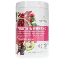 NutriDyn Fruits & Greens Daily Drink Strawberry Kiwi - 27 Servings
