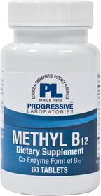 Progressive Labs Methyl B12  - 60 Tablets