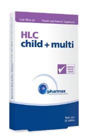 Pharmax HLC Child + Multi - 30 tablets
