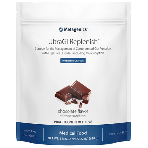 Metagenics UltraGI Replenish - Chocolate - 14 Serving Pouch