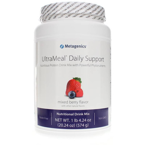 Metagenics UltraMeal Daily Support Berry - 20.24 Oz
