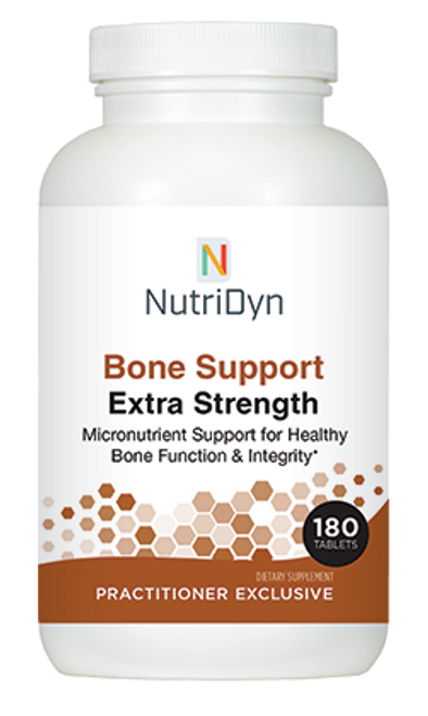 NutriDyn Bone Support Extra Strength - 180 Tablets